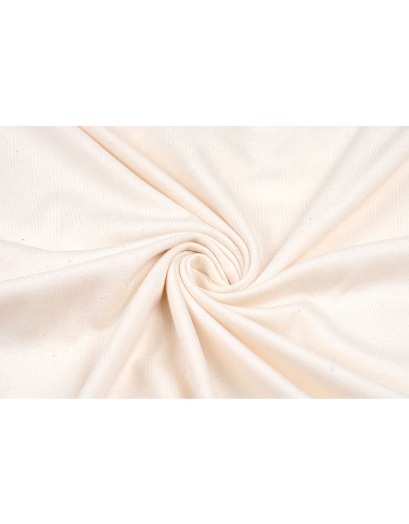 100% Cotton Jersey Creme