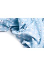 100% Katoen Beertjes Baby Blauw