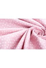 100% Baumwolle Petit Blumen Rosa