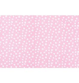 100% Cotton Petit Flowers Pink