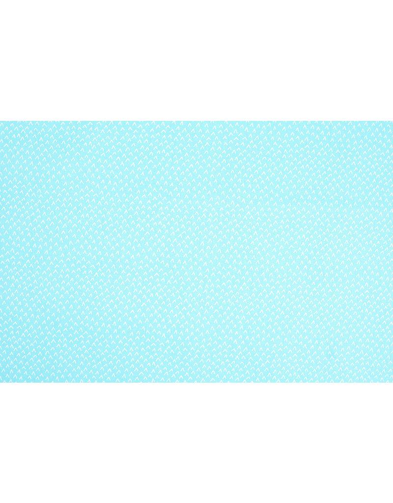 100% Katoen Lembu Licht Aqua