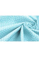 Stenzo 100% Katoen Lembu Licht Aqua