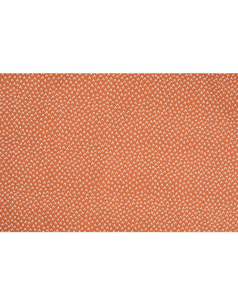 Stenzo 100% Baumwolle Lembu Rust Brique