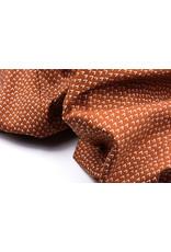 100% Cotton Lembu Rust Brique