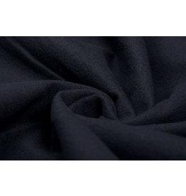 100% Katoen Flanel Zwart