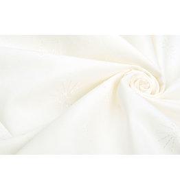 100% Cotton Broderie Lola Crown Cream