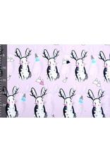 Polyester Polyester Regenmantel Kaninchen Flieder
