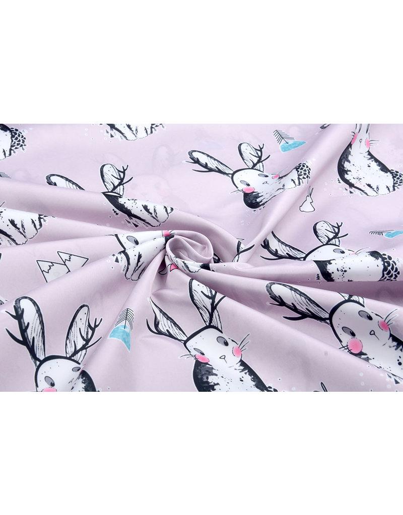 Regenjas stof Polyester Konijn Lila