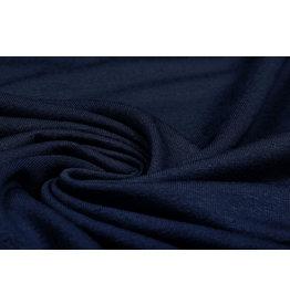 Viscose Jersey Navy Blue