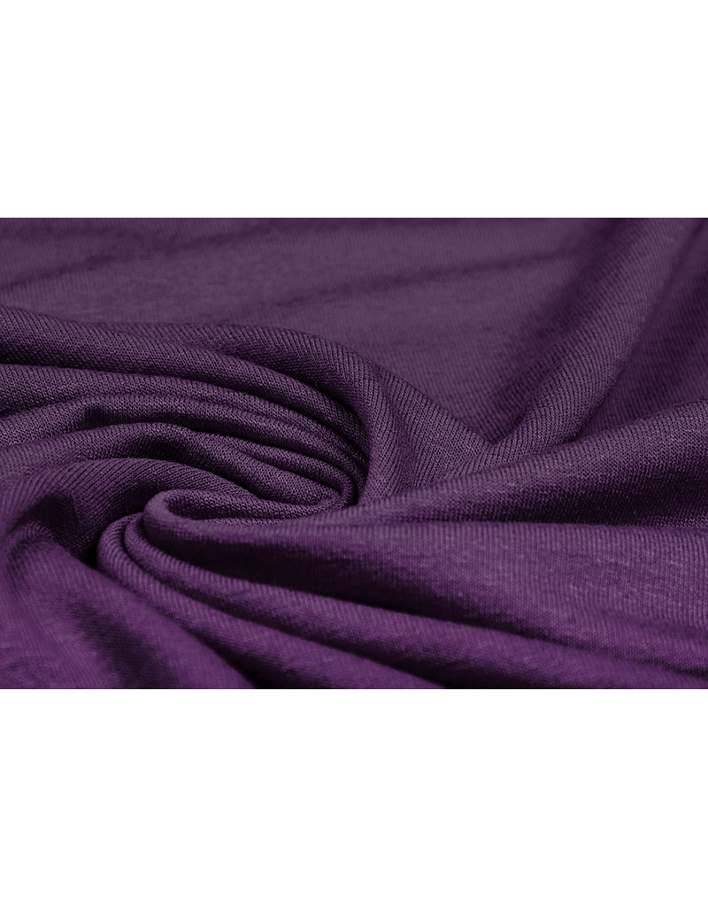 Viscose Jersey Donker Paars