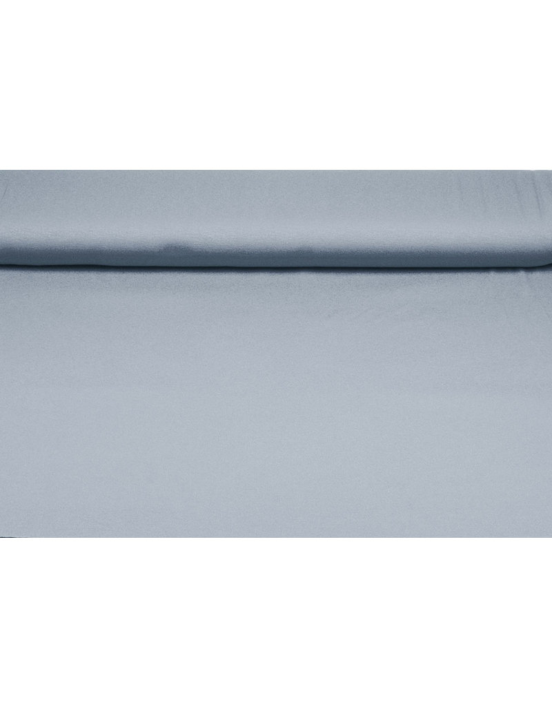Viscose Jersey Grey Blue