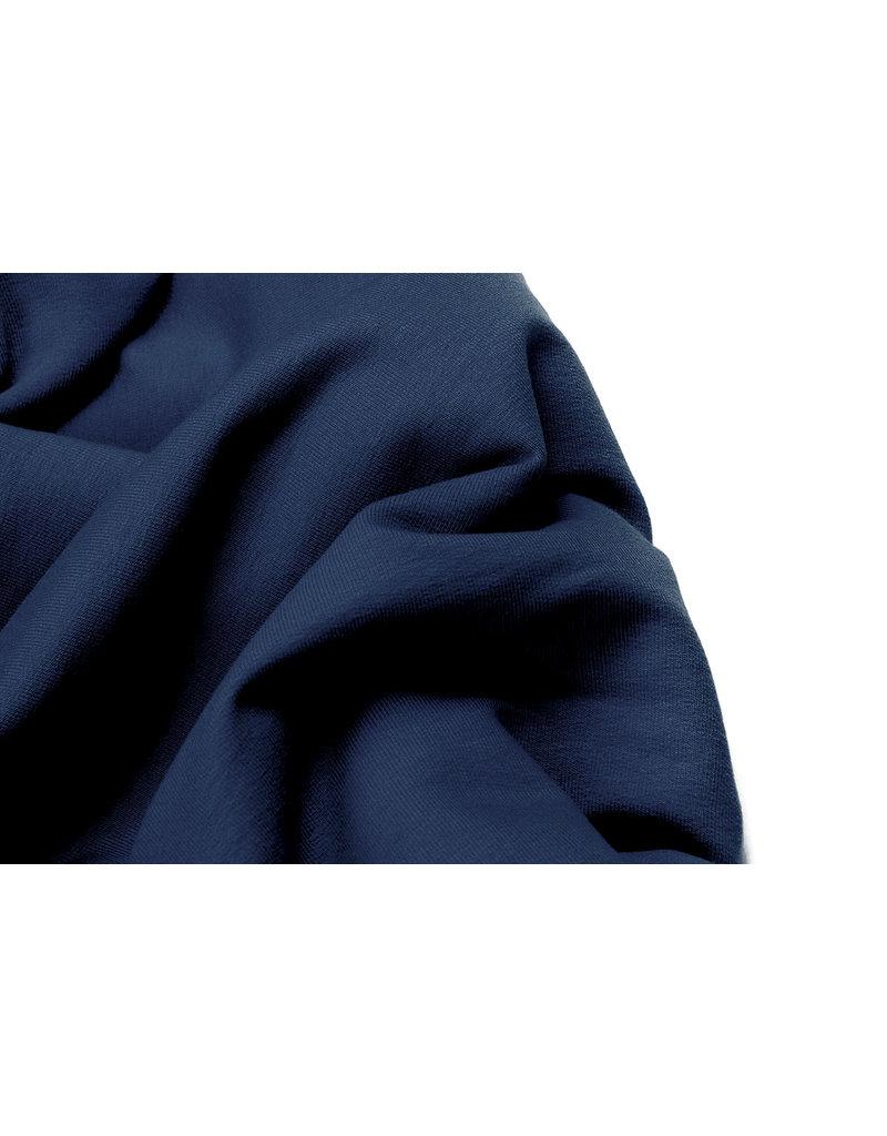 Oeko-Tex®  French Terry Polizei Blau