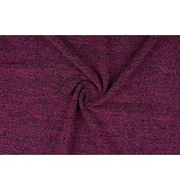 Knitted Fabric with glitter Illia Cyclaam