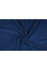 Knitted Fabric with glitter Illia Blue