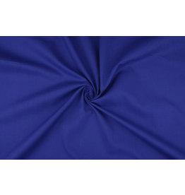 Poplin Kobalt blauw