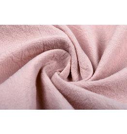 100% Washed Cotton Powder Pink