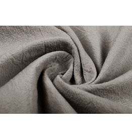 100% Washed Cotton Taupe