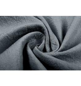 100% Gewaschene Baumwolle Grau