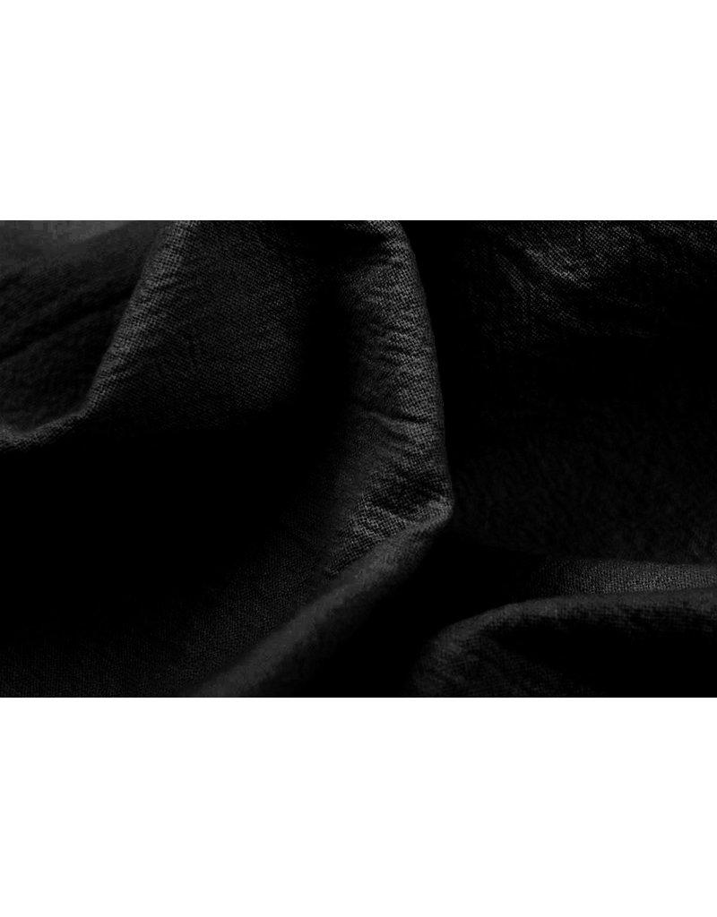 100% Gewassen Katoen Zwart