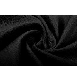 100% Washed Cotton Black
