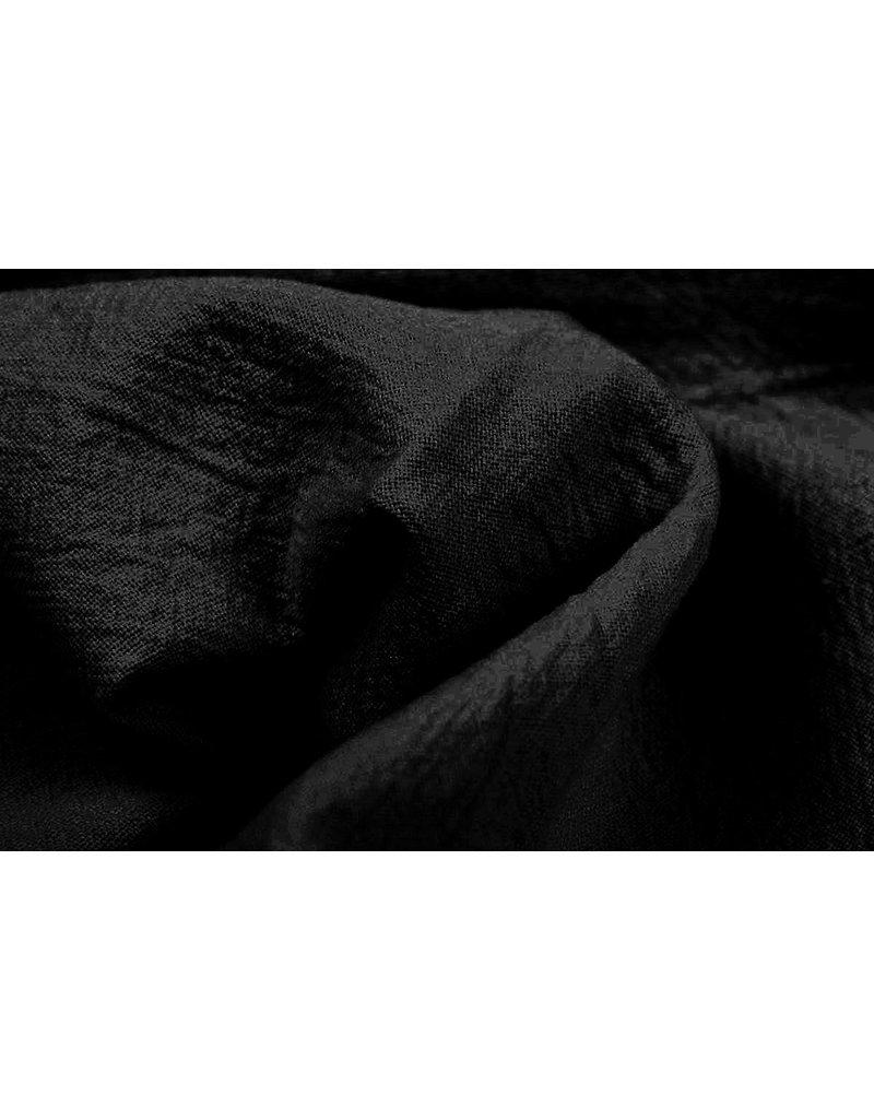 100% Gewaschene Baumwolle Schwarz