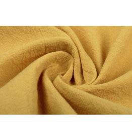 100% Washed Cotton Ochre