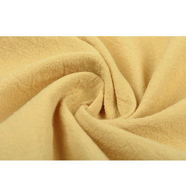 100% Washed Cotton Light Ochre