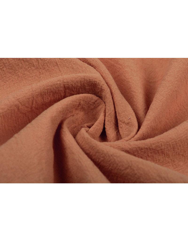 100% Gewaschene Baumwolle Brique