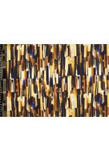 Oeko-Tex®  Baumwolljersey Digitaldruck Struktur Brique