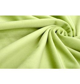 Velours Fluweel Stof Pica Lime