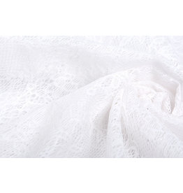 Lace Roses Doorna White