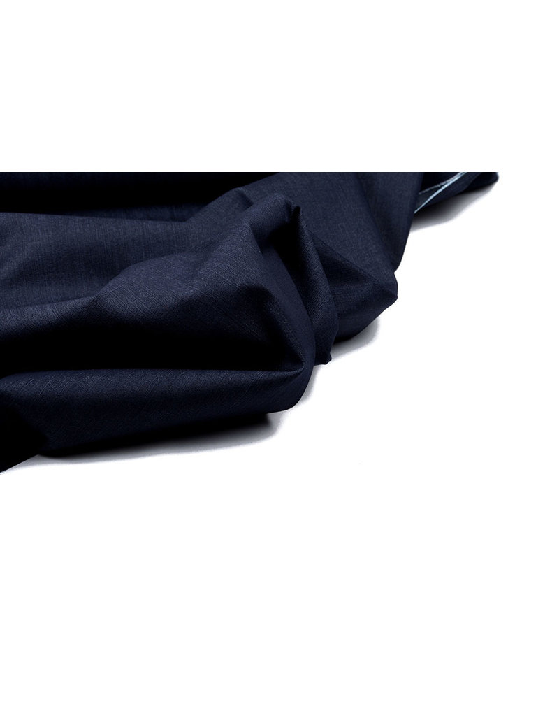 Ongebleekt Stretch Jeans Katoen Donker Blauw