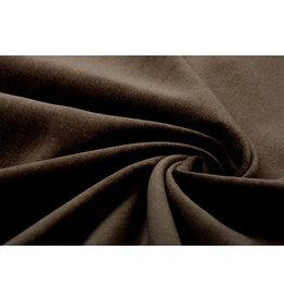 Cotton Velvet Fabric Donn Mocha Brown