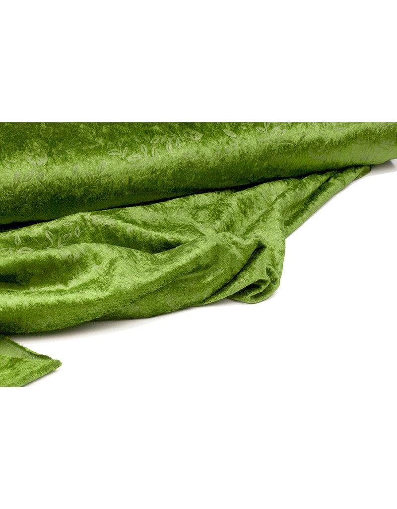 Pannesamt Kukka Dunkler Lime