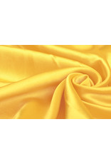 Polyester-Satin Gelb