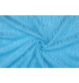 Hairy party fabric Aqua