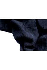 Oeko-Tex®  Baumwoll Musselin Stoff  Marine