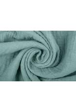 Oeko-Tex®  Hydrofiel stof Oud Groen