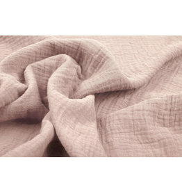 Oeko-Tex®  Double Gauze Fabric Powder Pink