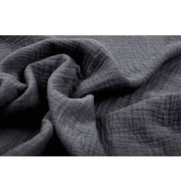Oeko-Tex®  Double Gauze Fabric Grey
