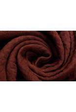 Oeko-Tex®  Baumwoll Musselin Stoff Rost Brique