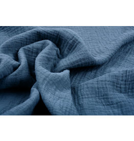 Oeko-Tex®  Baumwoll Musselin Stoff Jeans