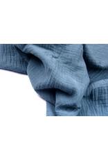 Oeko-Tex®  Hydrofiel stof Politie Blauw