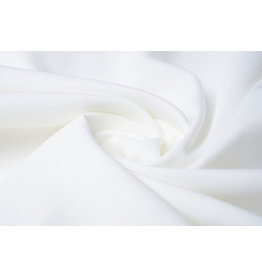 Stretch crepe satin 2 sides Off white