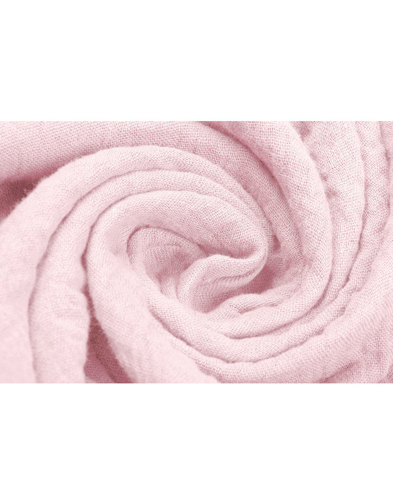 Oeko-Tex®  Hydrofiel stof Licht Roze
