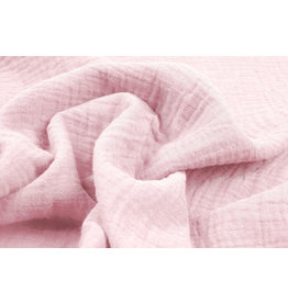 Oeko-Tex®  Double Gauze Fabric Light pink