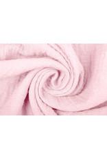 Oeko-Tex®  Baumwoll Musselin Stoff Hell-Pink