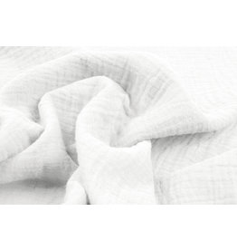 Oeko-Tex®  Double Gauze Fabric White