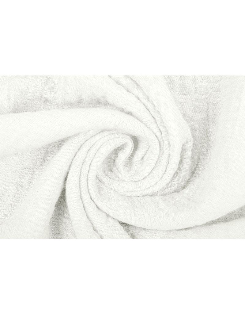 Oeko-Tex®  Baumwoll Musselin Stoff Creme