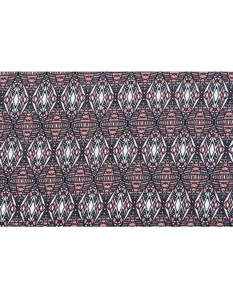 Crepe polyester Diama Koralle